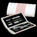 ERBE Maniküre Set Magic Box rosa-weiß